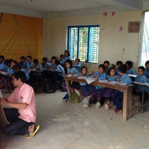Schule in Dhading